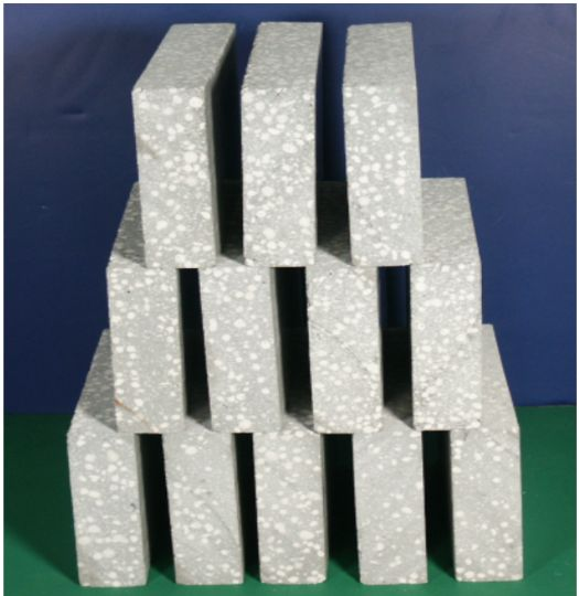 Flexible concrete foam concrete foam cement lightweight for Cement foam blocks